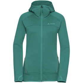 VAUDE Tekoa Fleece Jas Dames, nickel green